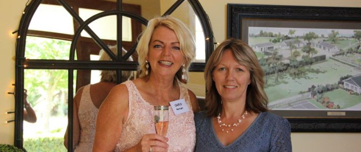 Caro with Cambridge Chamber of Commerce CEO Tania Witheford.